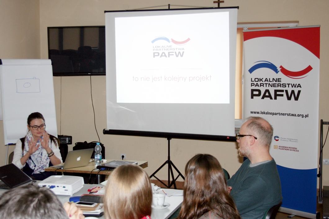 Warsztaty Lokalnych Partnerstw PAFW w Warce