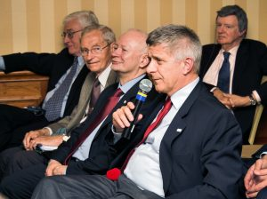 Nicholas A. Rey, Aleksander Koj, Michał Boni, Marek Belka oraz Frederick M. Bohen