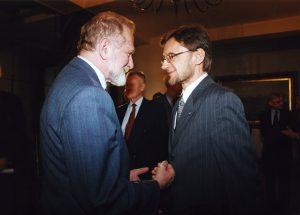 Minister Bronisław Geremek, Jerzy Koźmiński