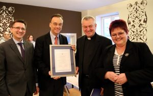 Grzegorz Jędrys, Andrew Nagorski, ks. Andrzej Tuszyński, Ewa Kamińska