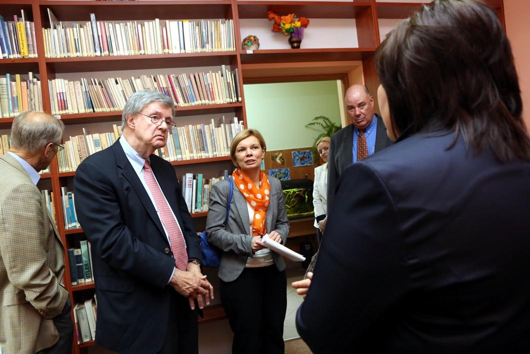 Spotkanie w bibliotece w Kaskach