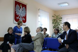 Spotkanie w gminnej bibliotece publicznej w Kaskach