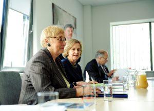 Prof. Anna Fornalczyk, Carla Skodinski, Frederick M. Bohen, Joseph C. Bell