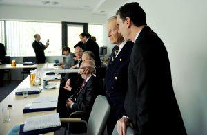 Prof. Zbigniew Brzeziński, Ambasador Lee Feinstein