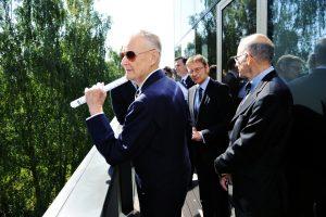 Prof. Zbigniew Brzeziński, Jerzy Koźmiński, Ambasador Lee Feinstein, Michael Fieldman