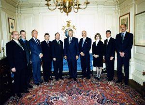 Spotkanie z Sekretarzem Stanu USA Colinem Powellem