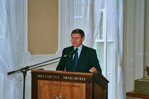 Prof. Leszek Balcerowicz, zakończenie III. edycji Programu Kirklanda