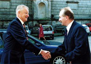 Prof. Zbigniew Brzeziński, Jan Malicki