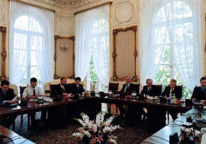 Spotkanie z uczestnikami I. edycji Programu Stypendialnego im. Lane'a Kirklanda
