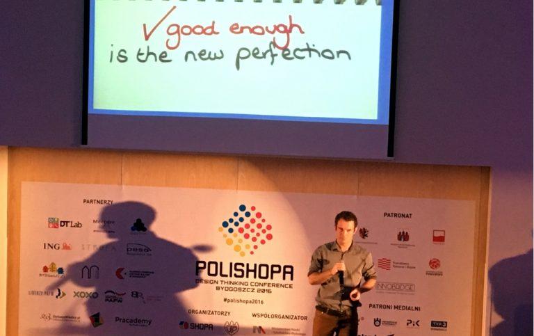 """""""Lokalne Partnerstwa PAFW"""" i """"Liderzy PAFW"""" partnerami konferencji POLISHOPA Design Thinking"""