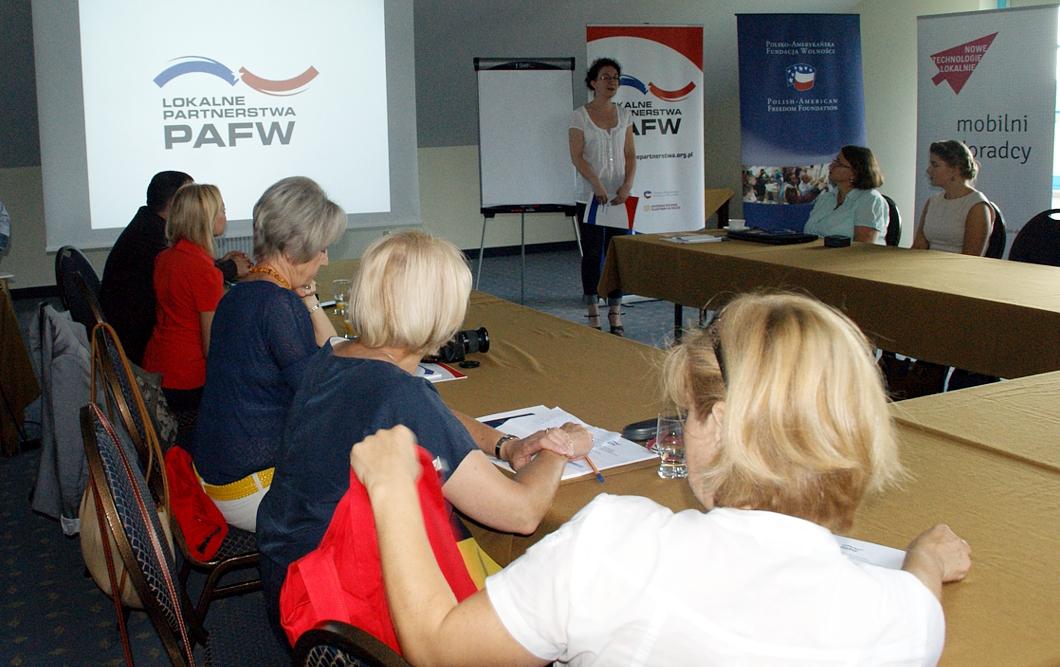 """Regionalne warsztaty """"Lokalnych Partnerstw PAFW"""""""
