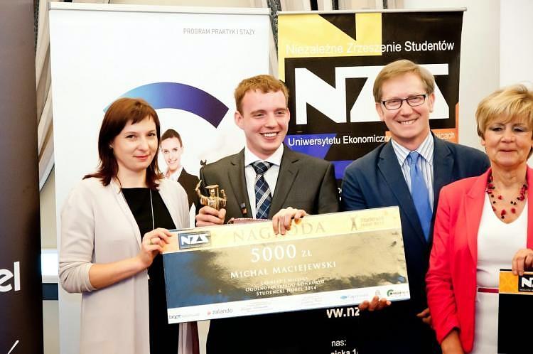 Stażysta PAII został wybrany najlepszym studentem w Polsce