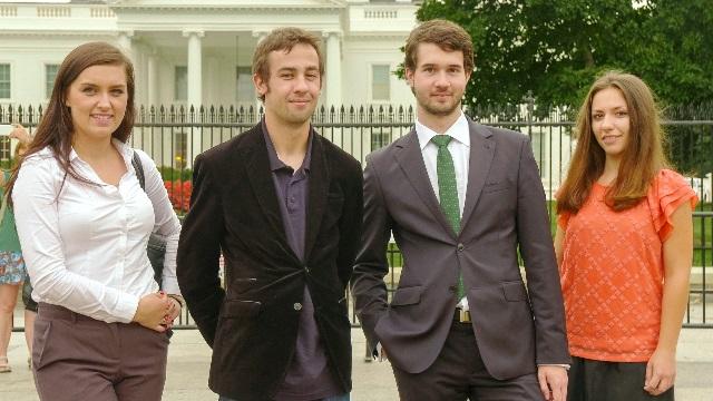 Stażyści PAII z wizytą w Waszyngtonie