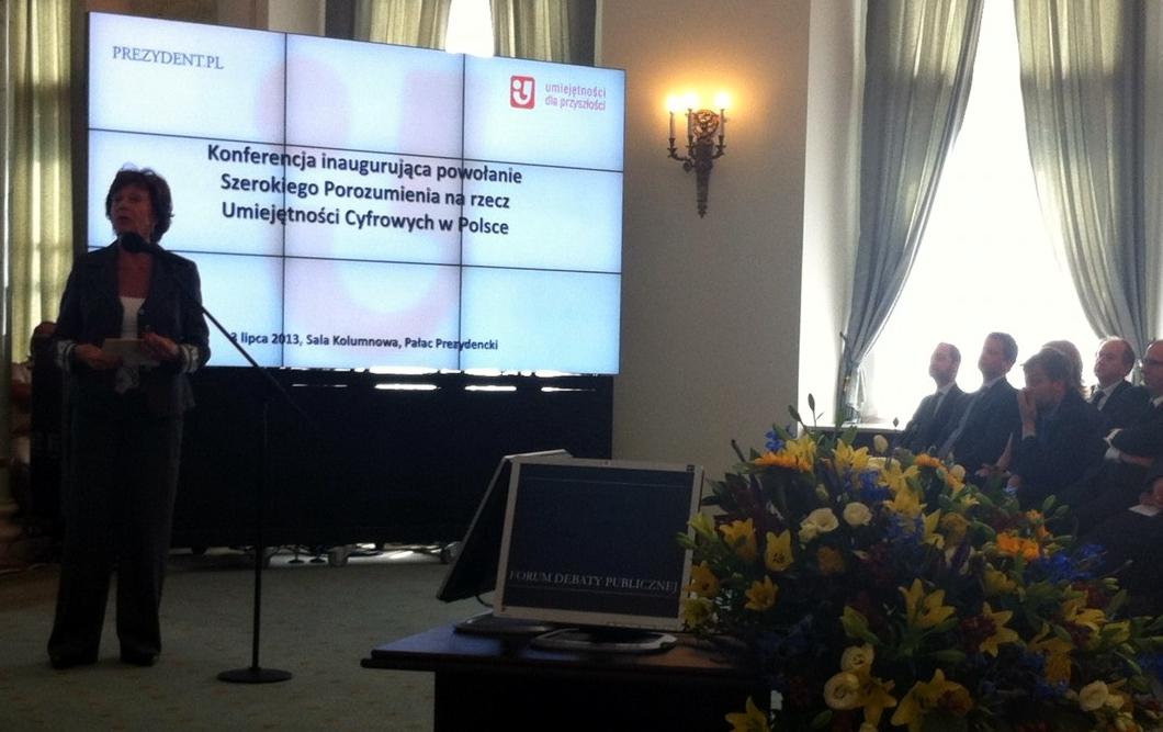 Inauguracja Szerokiego Porozumienia na rzecz Umiejętności Cyfrowych w Polsce