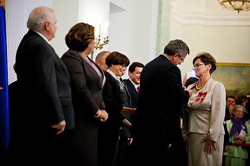 Liderki PAFW wśród kobiet odznaczonych przez Prezydenta RP