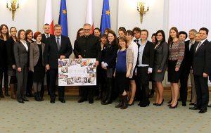 """Podsumowanie projektu """"Nowoczesny Patriotyzm"""" w Pałacu Prezydenckim"""