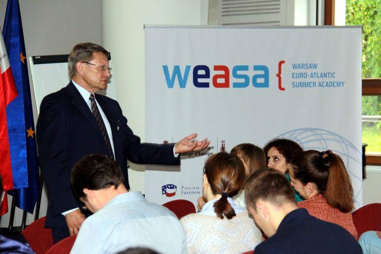Warszawska Letnia Akademia Euro-Atlantycka (WEASA) po raz drugi