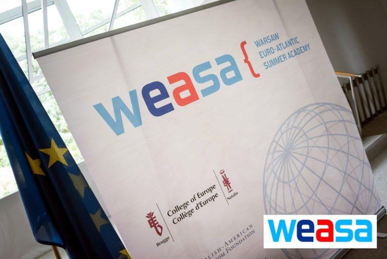 Warsaw Euro-Atlantic Summer Academy (WEASA) 2019