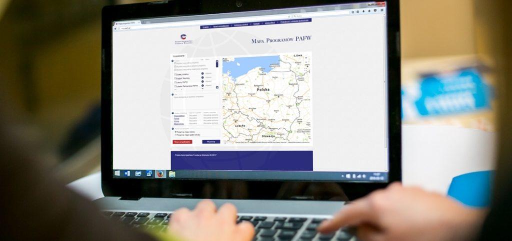 Mapa Programów PAFW