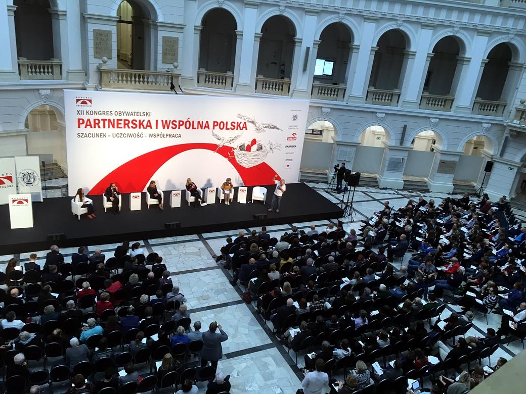 """""""Lokalne Partnerstwa PAFW"""" uczestnikiem XII Kongresu Obywatelskiego"""
