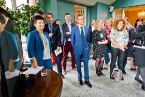 Spotkanie uczestników International Visitor Leadership Program