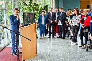 Jerzy Koźmiński, spotkanie uczestników International Visitor Leadership Program