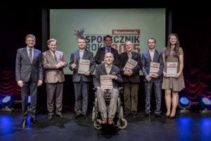 """Laureaci Konkursu o tytuł """"Społecznika Roku"""" tygodnika Newsweek Polska"""