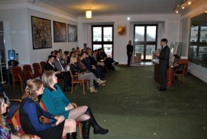 Spotkanie z z Wicemarszałkiem Sejmu Markiem Kuchcińskim