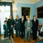 Pułkownik Ryszard Kukliński, ambasador Jerzy Koźmiński – Ambasada RP w Waszyngtonie, 1998