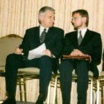 Premier Jerzy Buzek, ambasador Jerzy Kozmiński – Atlanta, 1998