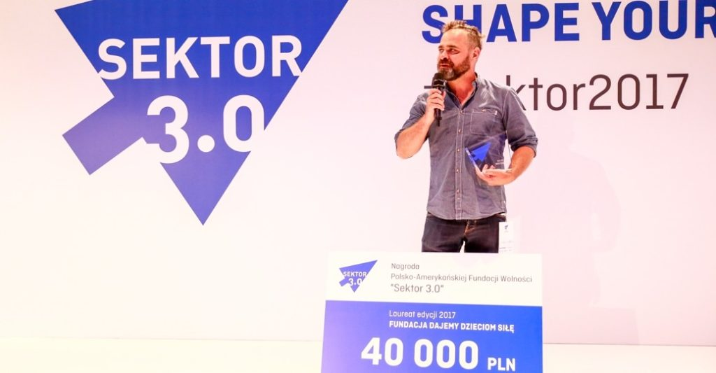 "Nagroda ""Sektor 3.0"". 40 000 zł dla laureata!"