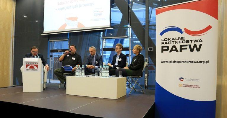 """""""Lokalne Partnerstwa PAFW"""" na XIII Kongresie Obywatelskim"""
