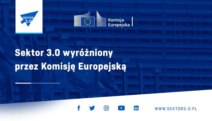"""Wyróżnienie European Digital Skills Awards dla """"Sektora 3.0"""""""