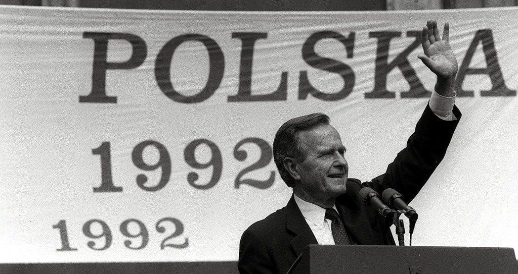 Prezydent George Bush 1924-2018