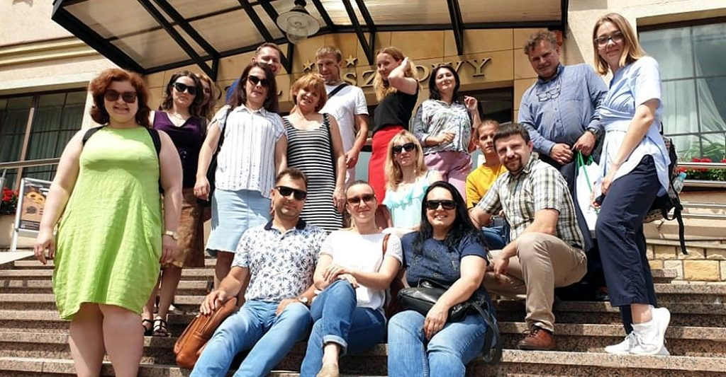Wizyta studyjna ukraińskich NGOs