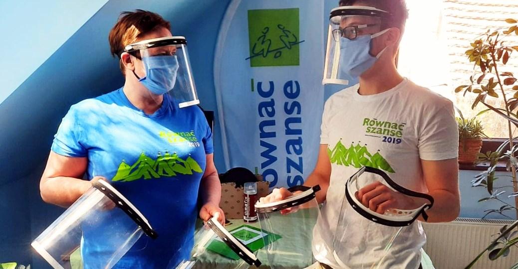 Drukują w 3D – przeciwdziałają pandemii