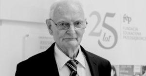 Odszedł Profesor Jerzy Dietl - założyciel i wieloletni prezes FEP